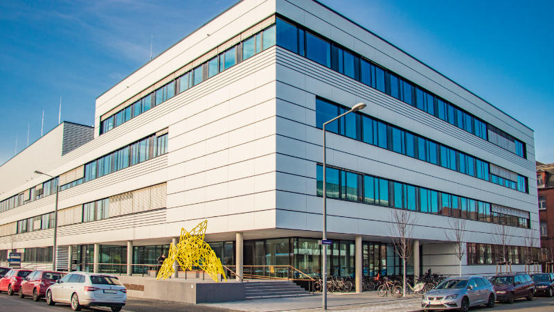 Photo of TU Dresden, B CUBE
