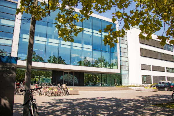 Photo of the CRTD, Center for Regenerative Therapies Dresden